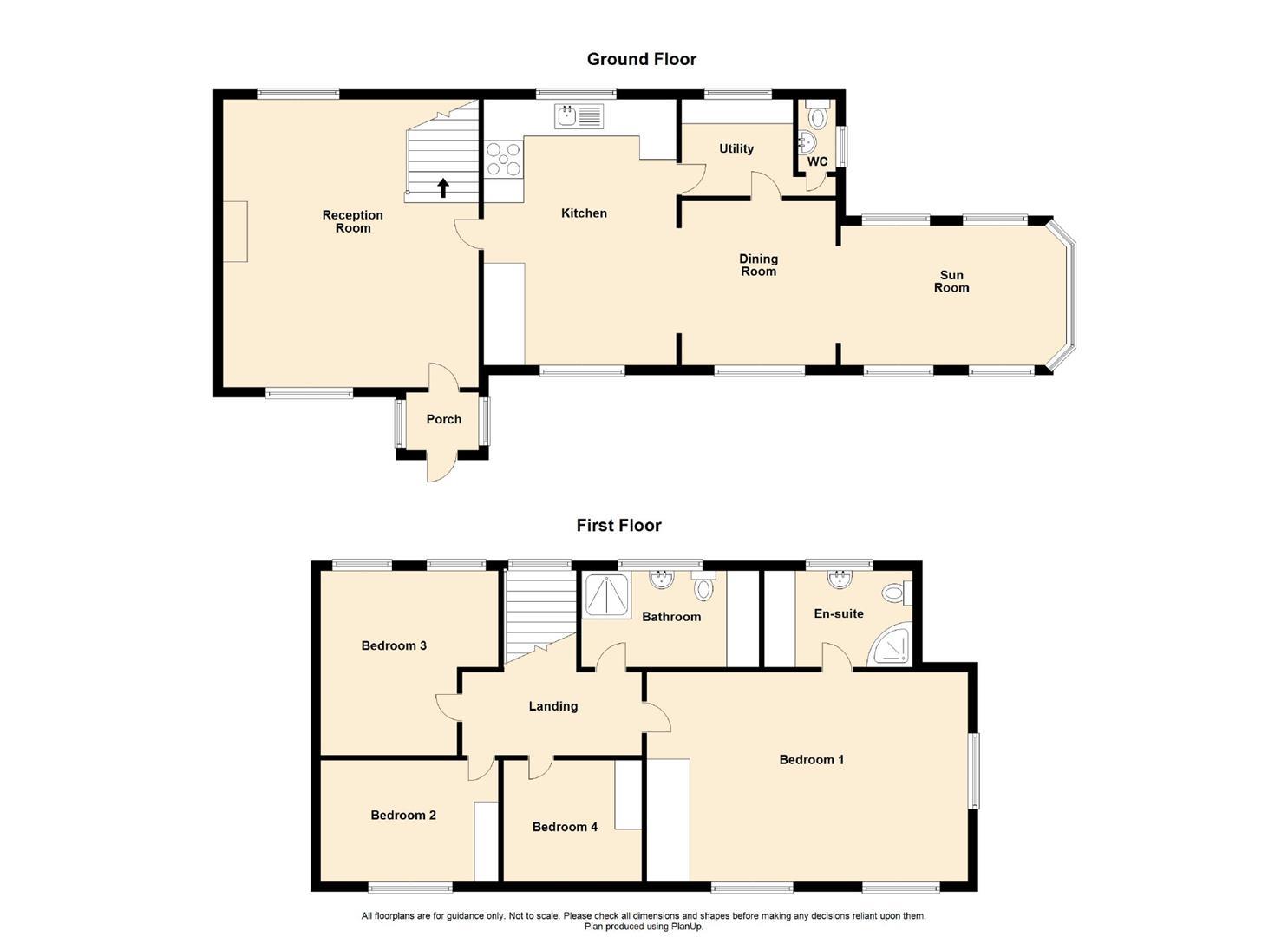4 Bedroom Semi Detached Cottage For Sale - Floorplan 1